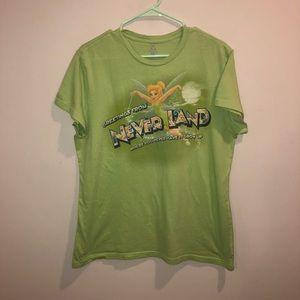 Disney TinkerBelle never land shirt